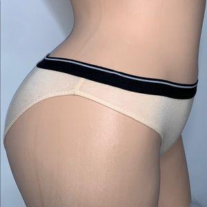 NWOT MADEWELL Nude Cotton Blend Underwear Panties
